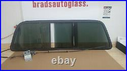 04-07 Ford F250 Super Duty POWER sliding rear window back glass slider