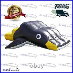 13x6.6ft Commercial Inflatable Penguin Super Sub Slide For Pool With Air Pump