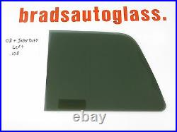 2008-2016 Ford F-250 Super Duty sliding rear window back glass slider LEFT PATCH