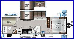2021 Della Terra 271BH SuperSlide, King BedROOM, Sleeps 10, 6850 Lbs, $241/Mo