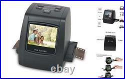22MP All-in-1 Film & Slide Scanner, Converts 35mm 135 110 126 and Super 8