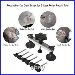 42-88Pcs Super PDR Tools Car Body Paintless Dent Puller Repair Kits Slide Hammer