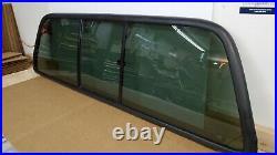 99-07 Ford F-250 Super Duty BACK GLASS sliding rear window back glass slider OEM