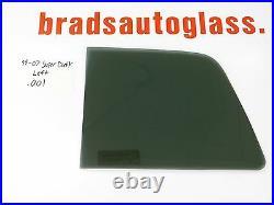 99-07 Ford F-250 Super Duty Left ONLY sliding rear window back glass slider