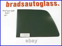 99-07 Ford F-250 Super Duty RIGHT side sliding rear window back glass slider