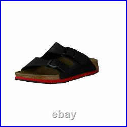 Birkenstock Arizona SL Black Super Grip Slip Sandals Slippers Clogs Mules Birko