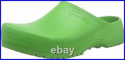 Birkenstock Mens Super Birki Apple Green Comfort Slip On Slippers Clogs 068081