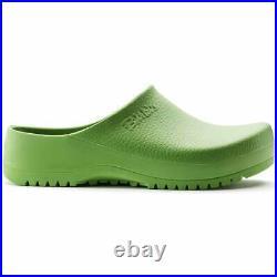 Birkenstock Super Birki Womens Apple Green Sandals Slip On Slippers Clogs 068081
