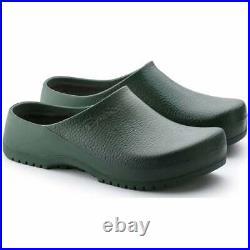 Birkenstock Women Super Birki Green Comfort Sandal Slip On Slippers Clogs 068051