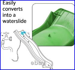 Blue Rabbit Play Outdoor Wavy Kids Slide 10' Super Glide Color RED or GREEN NEW