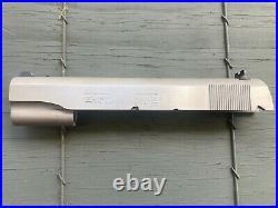 Colt Custom Shop New 1911 Government Model 38 Super Slide Srs 80 Stainless Steel
