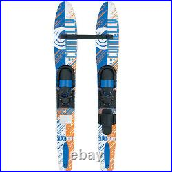 Connelly 2017 Super Sport Air 55 Kid's Combo Pair Waterski with Jr. Slide Adju