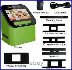DIGITNOW Digital Film & Slide Scanner Converts 35mm 110 & 126 Super 8 Film & 8mm