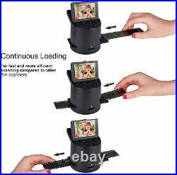 Digital Film Scanner with 22MP Converts Super 8 Films, Slides, Negatives to JPEG