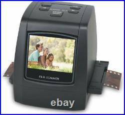 Film &Slide Scanner 22MP All-in-1 Converts 35mm 135 110 126 &Super 8 Films/Slide