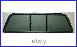 Fits 1999-2007 Ford F Series Super Duty F250-F750 Back Sliding Window with Gasket