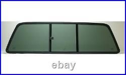 Fits 99-07 Ford F Series Super Duty Sliding Back Glass Slider No Gasket