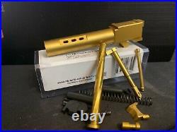 G19 Zaffiri Ported TiN Barrel + G19 TiN Super Duty 9mm Slide Completion Kit