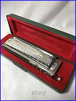 HOHNER Horner Super Chromonica 270 270/48 Key C Chromatic harmonica slide new