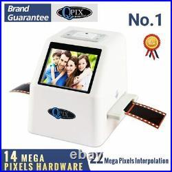 High Resolution 22 MP 110 135 126KPK Super 8 Negative Photo Scanner 35mm Slide