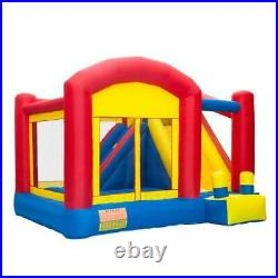Inflatable Bounce House Castle Kids Jumper Super Slide Bouncer Without Blower