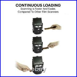 KODAK SCANZA Digital Film & Slide Scanner Converts 35mm, 126, 110, Super