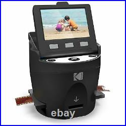 KODAK SCANZA Digital Film & Slide Scanner Converts 35mm 126 110 Super 8 & 8