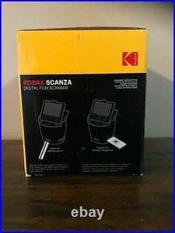 KODAK SCANZA Digital Film & Slide Scanner Converts 35mm 126 110 Super 8 8mm NEW