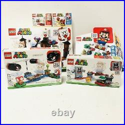 LEGO Super Mario Bundle 71360 With Expansions King Boo, Boomer Bill, Whomps Lava