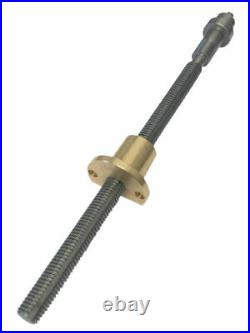New Myford Metric Feedscrew & Nut For Super7 Cross Slide Powerfeed Lathes 30/142