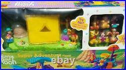 Pooh Campground Super Adventure Slide, Light Up Tent, 10 Figures NIB Collectible