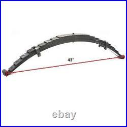 Posies Super Slide R40L 37-40 Ford Rear Leaf Spring-2-1/2 Drop