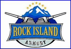 Rock Island Armory GI Standard. 38 Super Full-Size 5 1911 Slide Polished Nickel