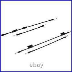SET-RB924350 Dorman Door Latch Cables Set of 2 Front & Rear Passenger Right Pair
