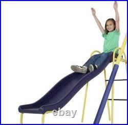 Super 8 Fun Metal Swing Set Sportspower Super Star Swing and Slide Set