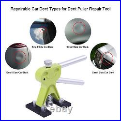 Super PDR DIY Tool Car Body Paintless Dent Repair Kit Slide Hammer Puller Lifter