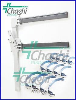 Super-Slide II Laminectomy Retractor 13 PCs Set Veterinary Orthopedic Chaghi T