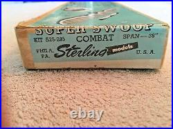 Super Swoop - Sterling Models- Nib -very Rare - Combat Veteran