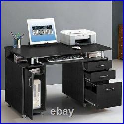 Techni Mobili Super Storage Computer Desk Espresso Free Shipping and Returns New