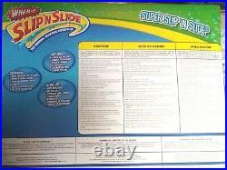 WHAM-O SUPER SLIP' N SLIDE 26 Backyard Water Slide withPump, Sprinklers & Boards