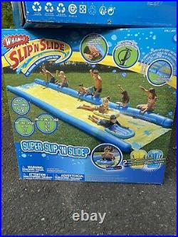 Wham-O Super Slip N Slide! 2 Boogie Boards Included! Brand New