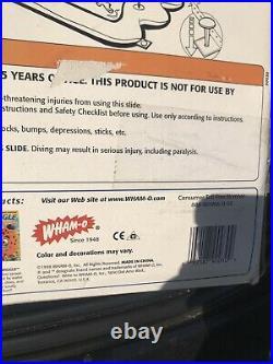 Wham-O Super Slip N Slide! 22 Feet Of Mega Fun! Super Geyser! Rare 1998 Tunnel