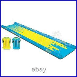 Wham-O Super Slip'N' Slide Water Slide with Boogie Boards Water Spray 26ft