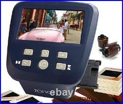 Zonoz FS-Five Digital Film & Slide Scanner Converts 35mm, 126, 110, Super 8 &